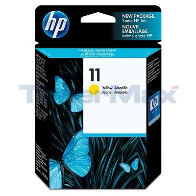 HP 11 INK CARTRIDGE YELLOW (NO BOX)